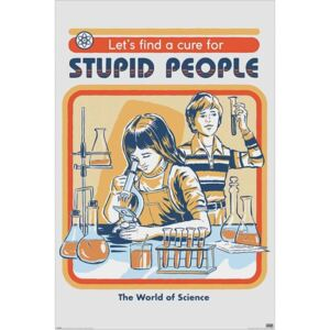 Steven Rhodes , Maxi Poster - Stupid People