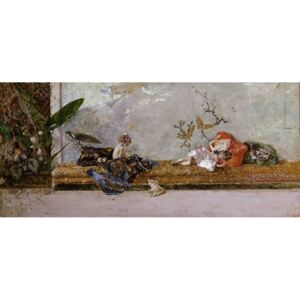 Steve Art Gallery The Children of the Painter in the,Mariano Fortuny,80x40cm