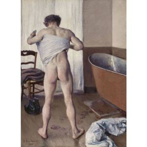 Steve Art Gallery The man in the bath,Gustave Caillebotte,60x43cm