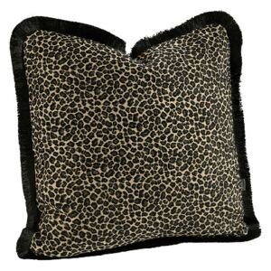 LEOPARD Cushioncover with fringe - 60x40cm