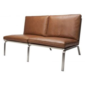 MAN Sofa Two-Seater - Vintage Leather, Cognac 21000