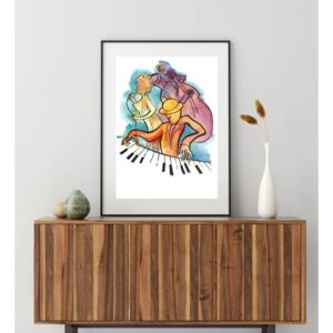Posters - Jazz piano