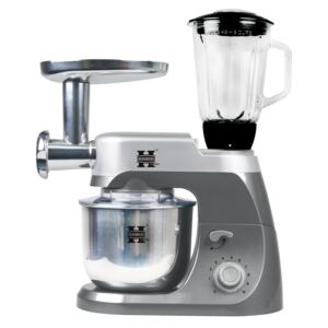 Herzberg HG-5029:3 in one 1800W Stand Mixer With Planetary Beating Action Gray
