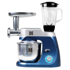 Herzberg HG-5029:3 in 1800W Stand Mixer With Planetary Beating Action Blue