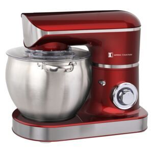 Imperial Collection IM-KM2200: 2200W Stand Mixer with 8.5L S/S Mixing Bowl Red