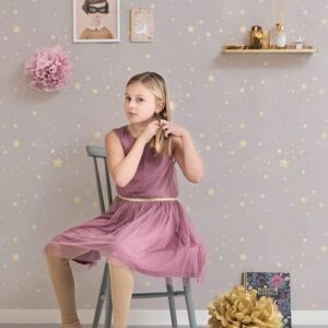 TWINKLE DUSTY LILAC Non woven / Easy up-tapet