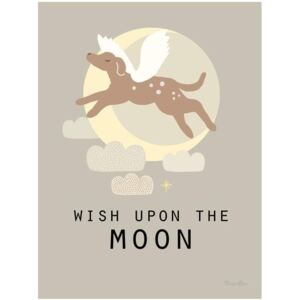 WISH UPON THE MOON poster - 30x40 cm
