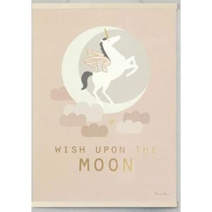 WISH UPON THE MOON GOLD poster - 30x40 cm