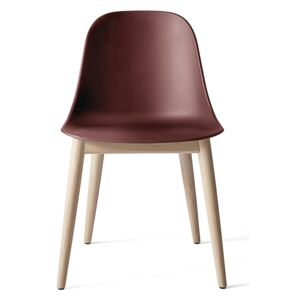 Menu Harbour Side Chair Shell - Natural Oak, Burned Red Shell