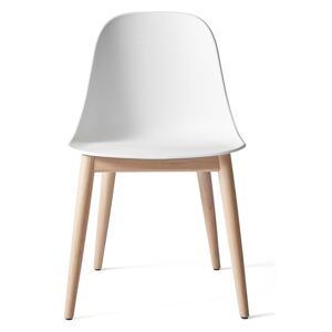 Menu Harbour Side Chair Shell - Natural Oak, White Shell