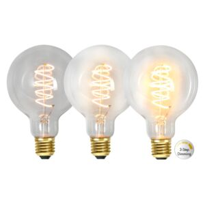 LED-lampa G95, Decoled Spiral Clear 3-step