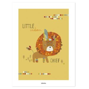 Indians The Little Chief Poster - 30x40 cm