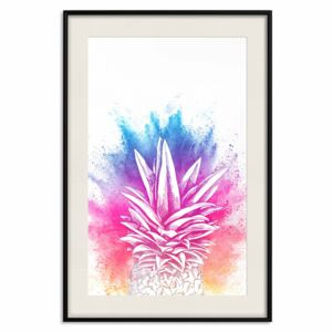 Posters: Colourful Pineapple [Poster]