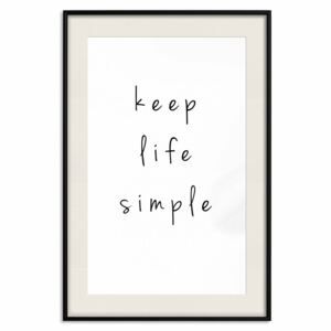 Posters: Keep Life Simple [Poster]