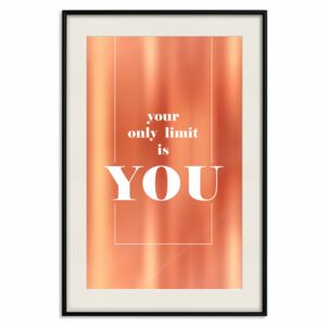 Decorativa Posters: Your Only Limit Is You [Deco Poster - Copper]