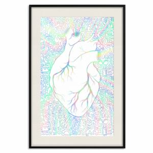Decorativa Posters: Clean Heart [Deco Poster - Holographic]
