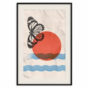 Posters: Butterfly and Sunrise [Poster]