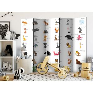 Rumsavdelare Learning by playing (animals) II [Room Dividers]