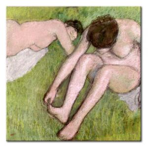 Canvastavla Two Bathers on the Grass