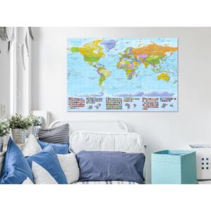 Konst World: Colourful Map