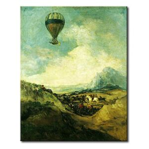 Tavla The Balloon or, The Ascent of the Montgolfier